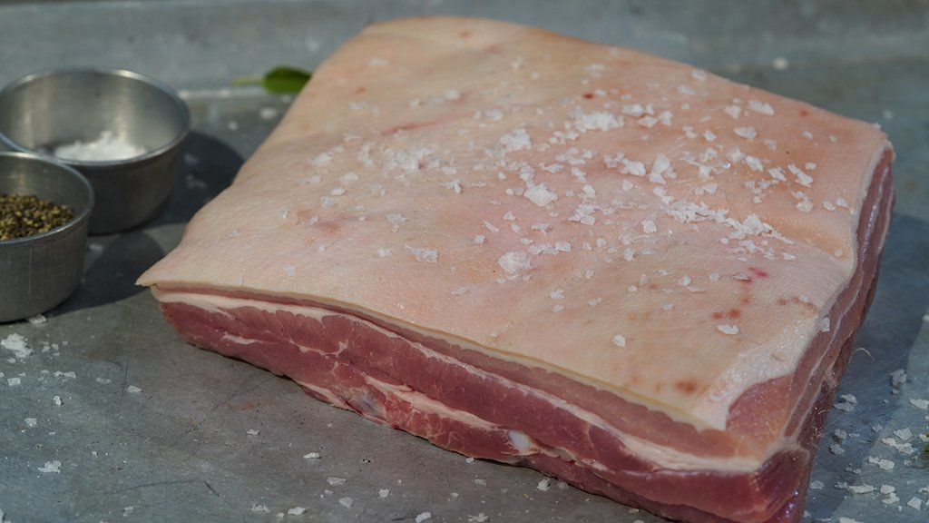 Belly of Pork for sale - Parsons Nose