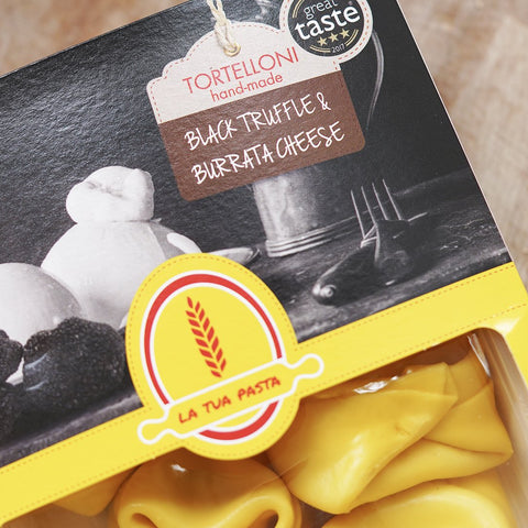 Black Truffle and Burrata Cheese Tortelloni