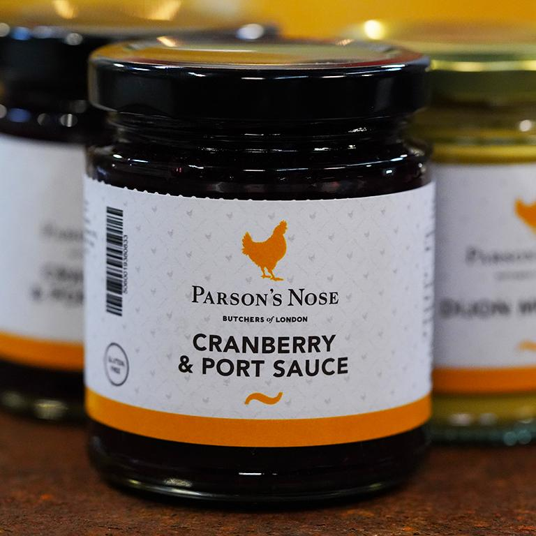 227g Cranberry & Port Sauce for sale - Parsons Nose