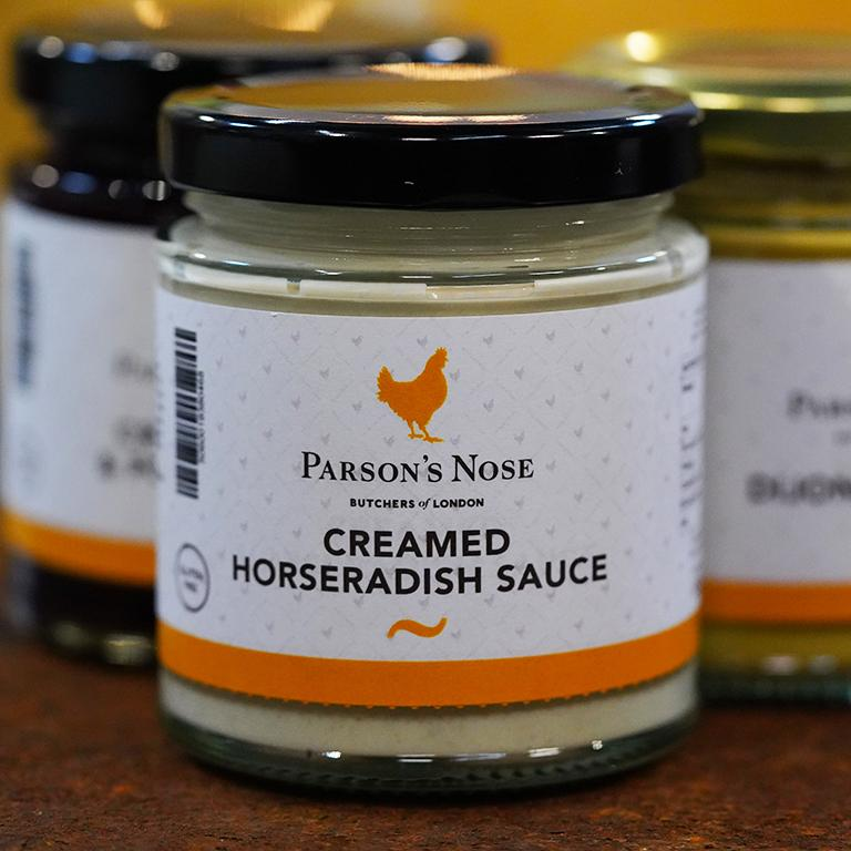 Horseradish Sauce (Creamed) for sale - Parsons Nose