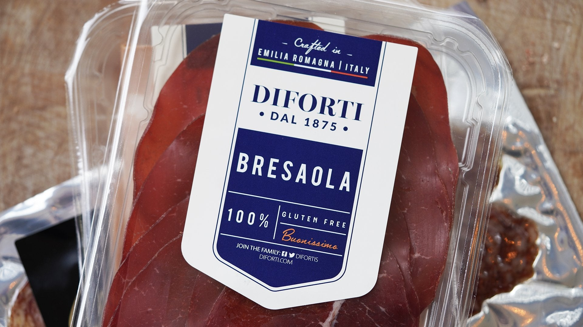 Diforti Bresaola Cured Beef for sale - Parsons Nose