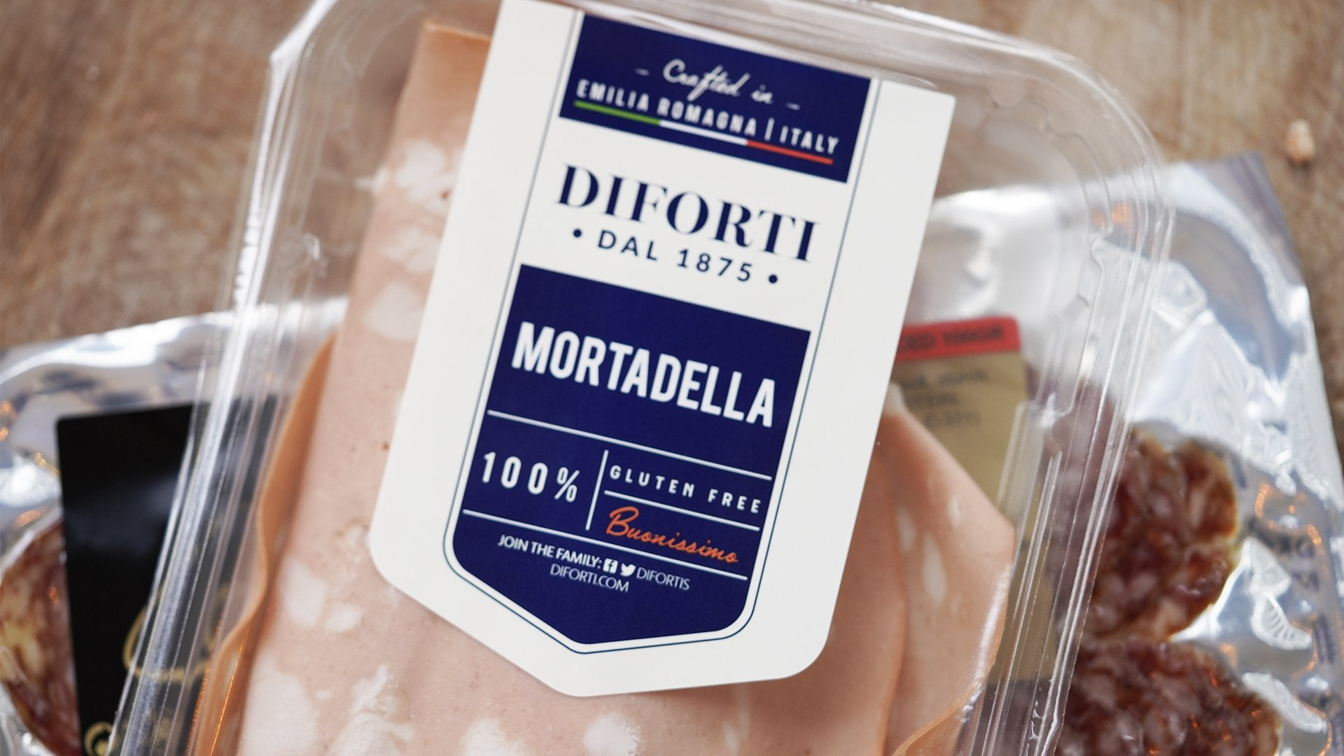 Diforti Mortadella Cured Pork for sale - Parsons Nose