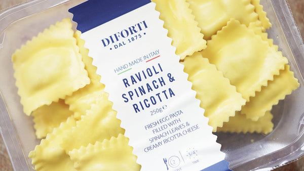 Diforti Spinach and Ricotta Ravioli for sale - Parsons Nose