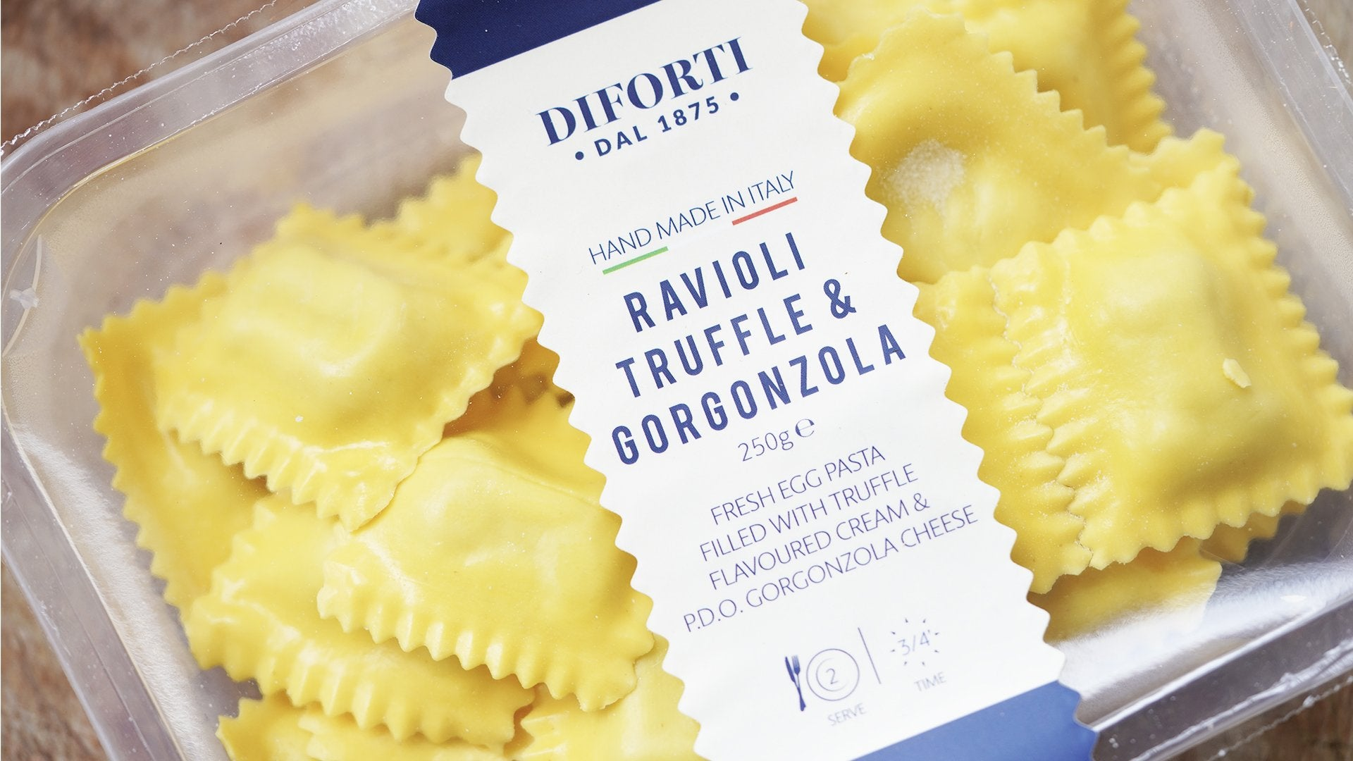 Diforti Truffle and Gorgonzola Ravioli for sale - Parsons Nose