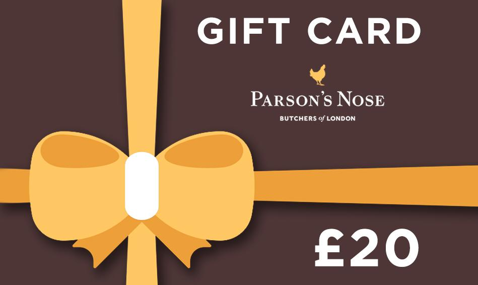 Gift Card £20.00 GBP Gift Card  £20 for sale - Parsons Nose