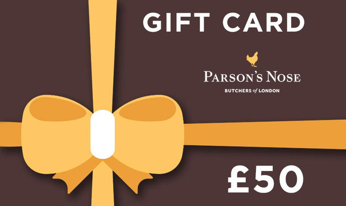 Gift Card £50.00 GBP Gift Card  £50 for sale - Parsons Nose