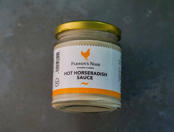 Horseradish Sauce (Hot) for sale - Parsons Nose