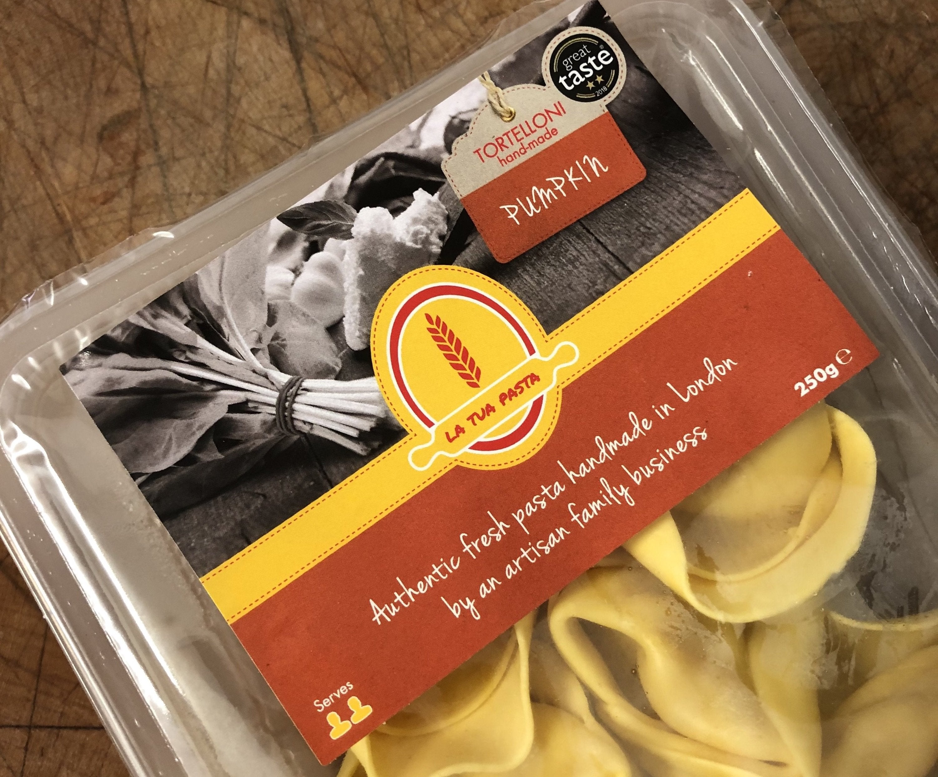 La Tua Tortelloni (Pumpkin) for sale - Parsons Nose