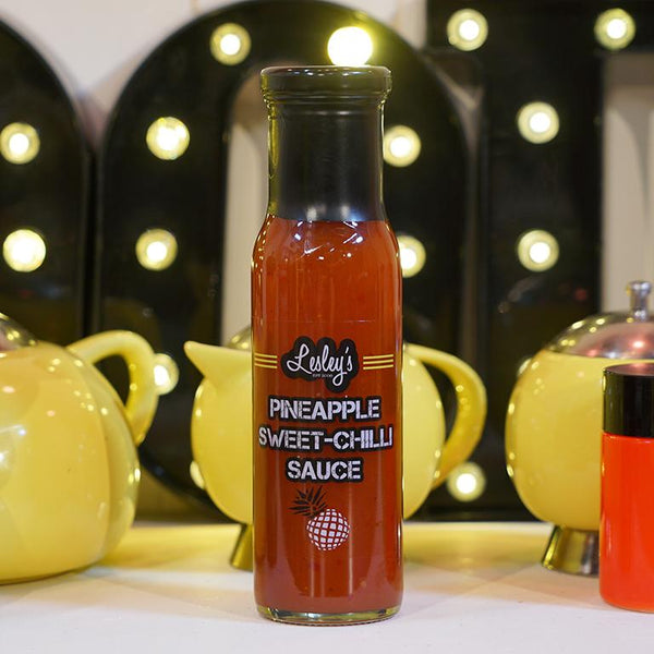 250ml Lesley's Pineapple & Sweet Chilli Sauce for sale - Parsons Nose