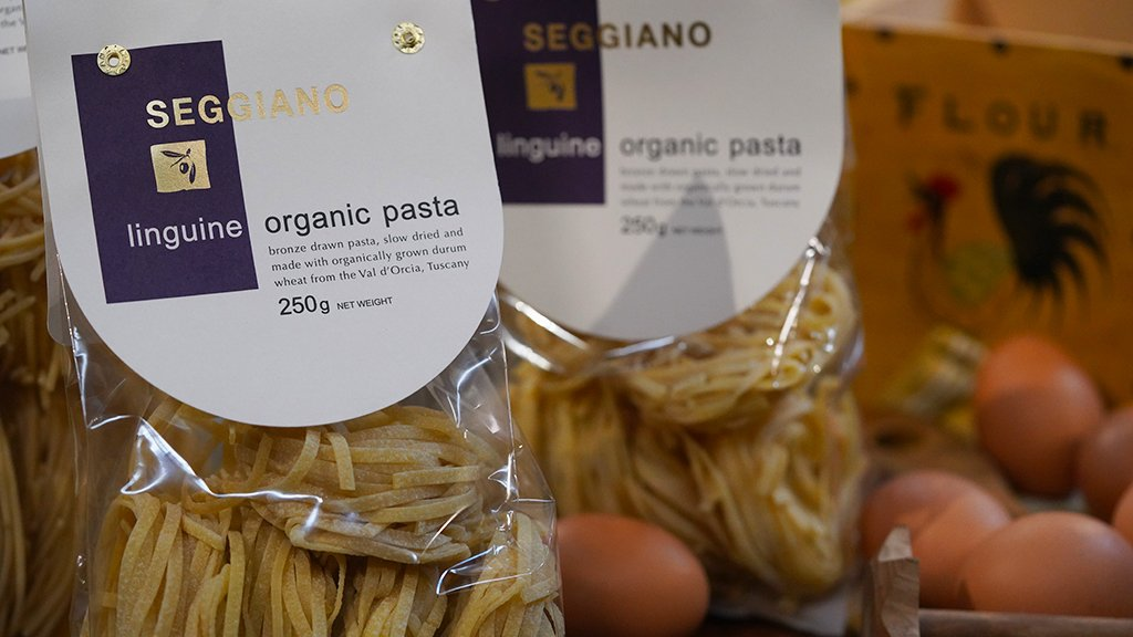 250g Seggiano Dry Organic Linguine Pasta for sale - Parsons Nose