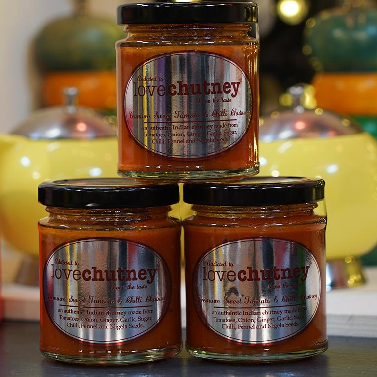 180g Lovepickle Tomato & Sweet Chilli Chutney for sale - Parsons Nose