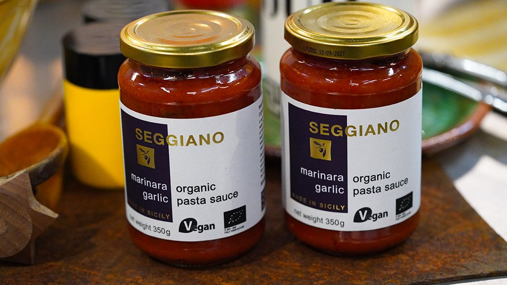 350g Seggiano Marinara Pasta Sauce for sale - Parsons Nose