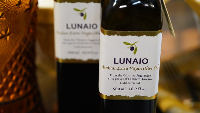 Olive Oil (Extra Virgin from Lunaio)