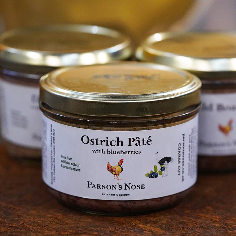 180g Paté (Ostrich) for sale - Parsons Nose