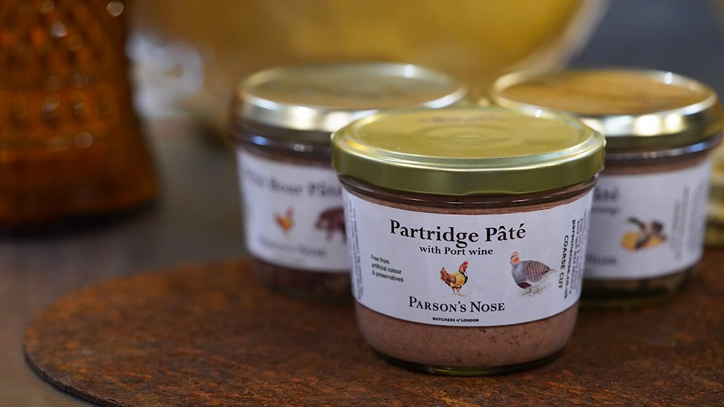 180g Paté (Partridge with Port) for sale - Parsons Nose