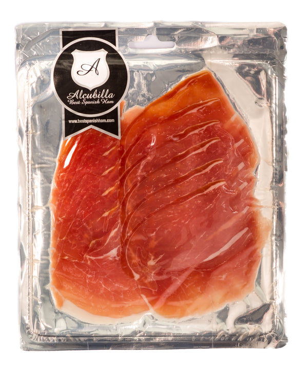 Alcubilla Sliced Serrano Ham for sale - Parson's Nose