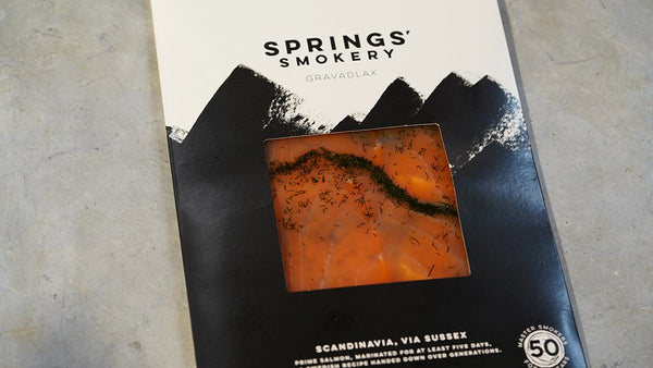 200g Smoked Gravadlax D Cut for sale - Parsons Nose