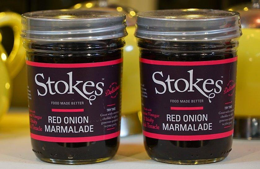265g Stokes Red Onion Marmalade for sale - Parsons Nose
