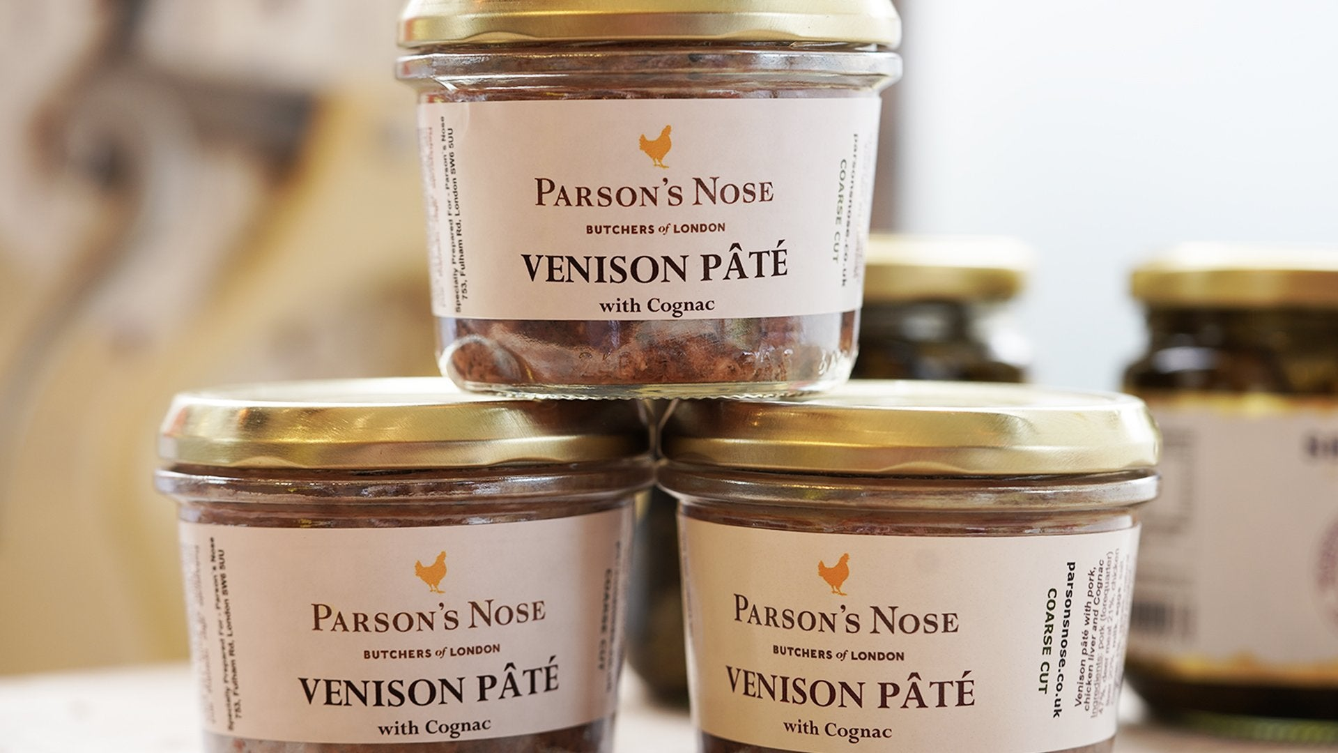 Paté (Venison) for sale - Parsons Nose