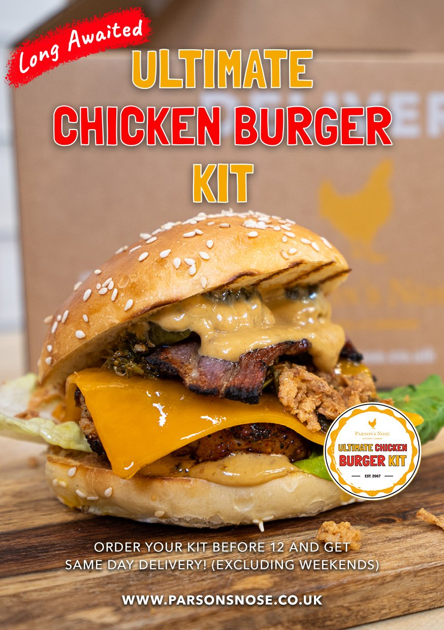 Ultimate Chicken Burger Kit for sale - Parson's Nose