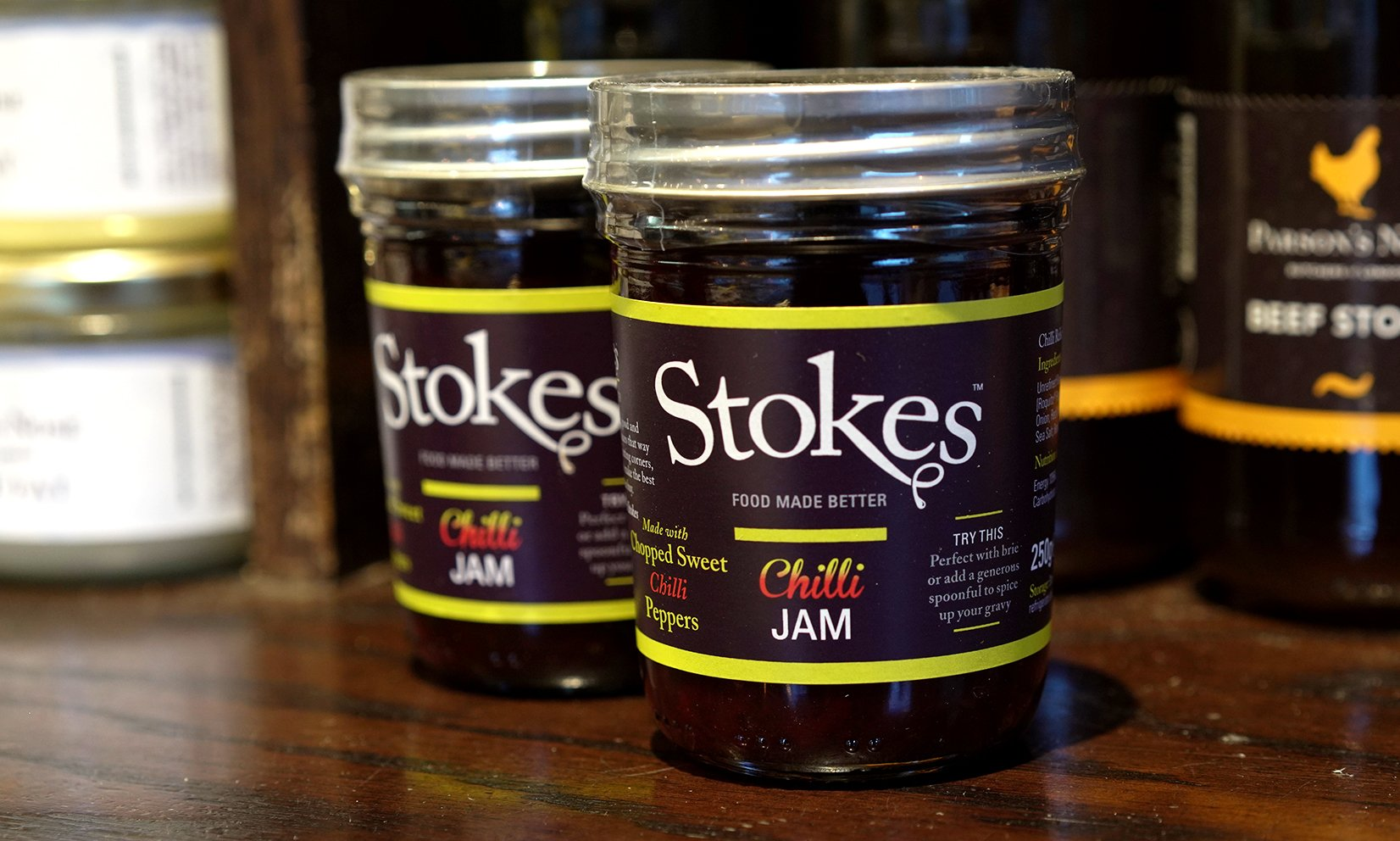 Stokes Chilli Jam for sale - Parsons Nose