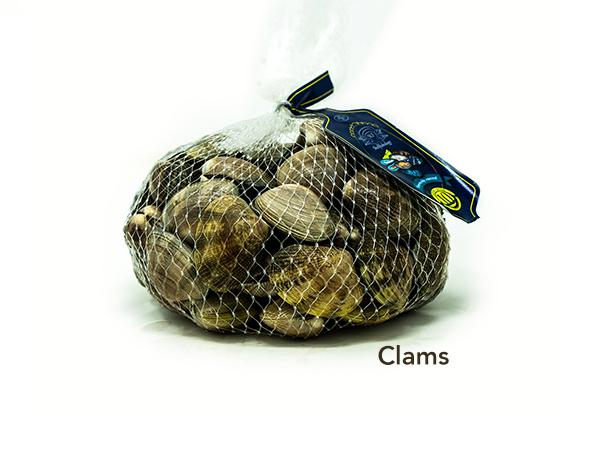 Clams for sale - Parson's Nose
