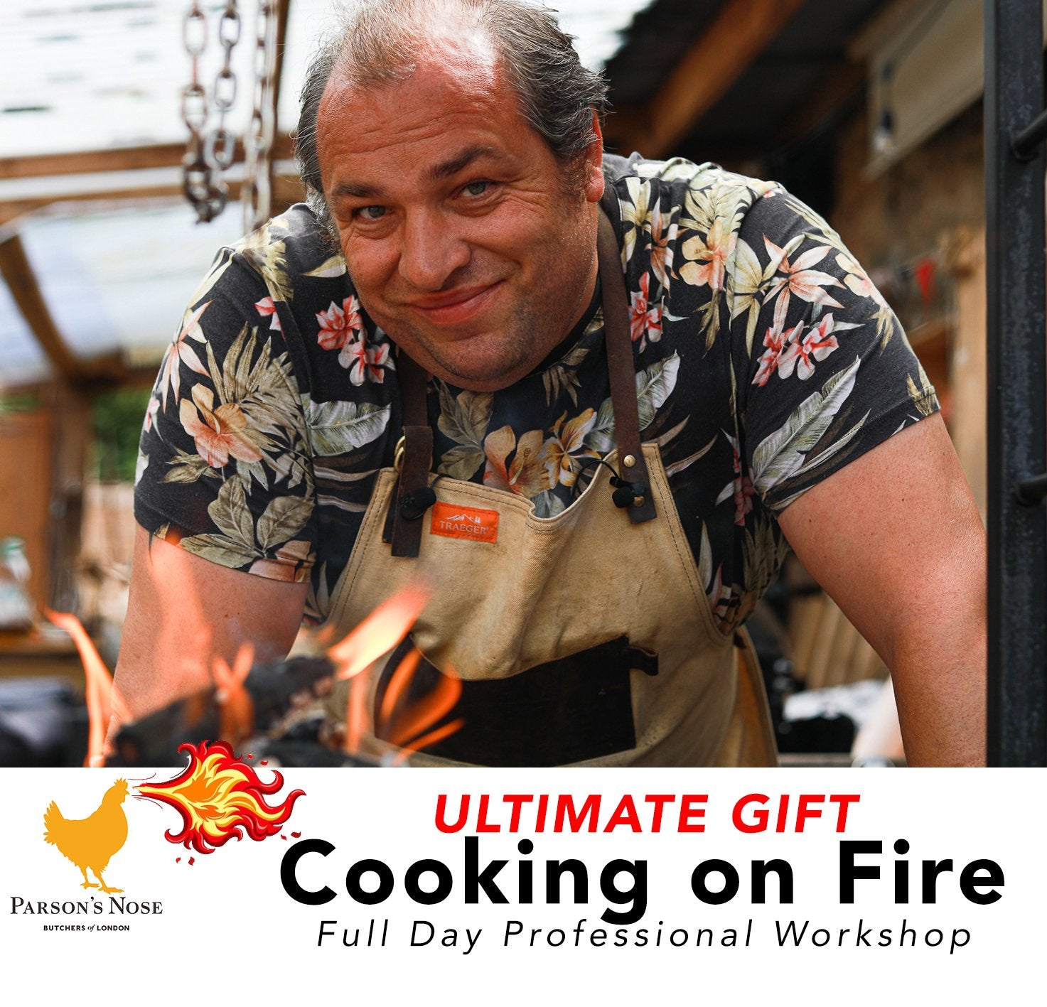 Cooking on Fire Ultimate Workshop for sale - Parson's Nose