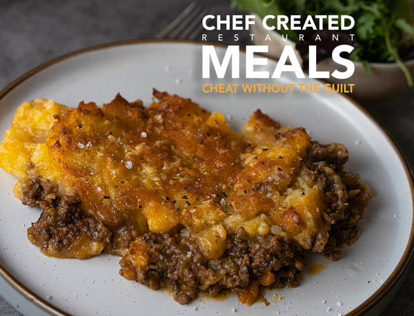 Cottage pie beef chuck & short rib mince with mash potato & cheddar for sale - Parson's Nose