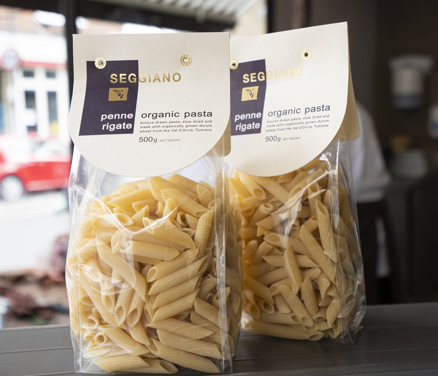 250g Seggiano Dry Organic Penne Pasta for sale - Parsons Nose