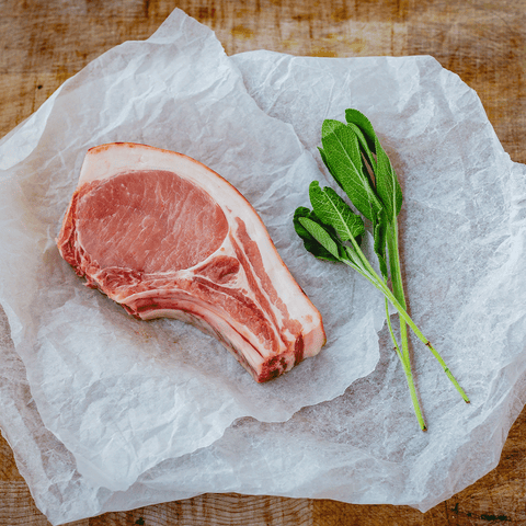 380 - 400g Pork Chop for sale - Parsons Nose