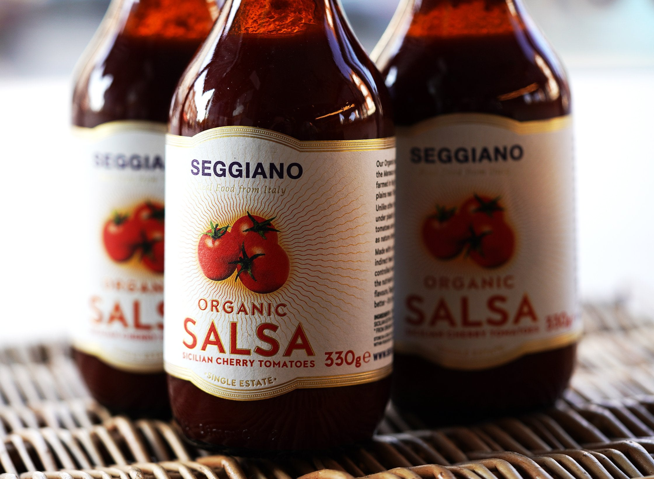 330g Seggiano Organic Salsa for sale - Parsons Nose