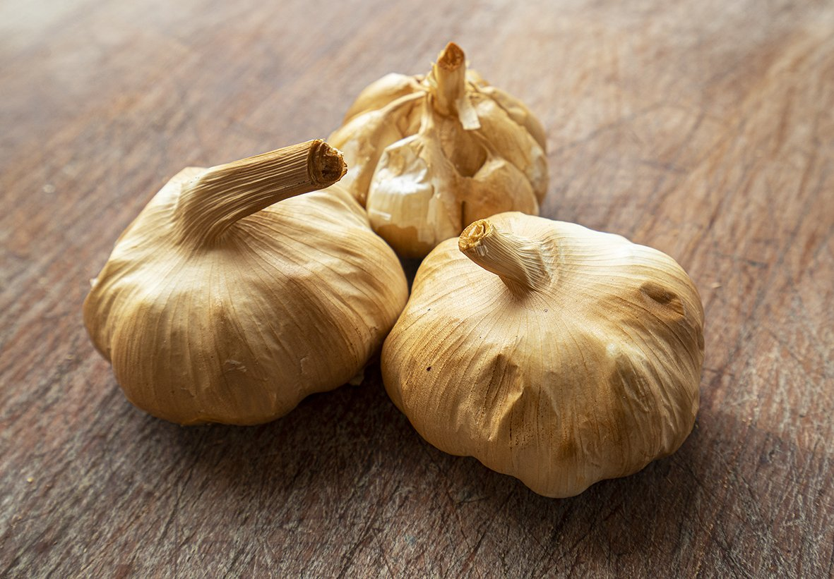 Smoked Garlic for sale - Parson's Nose