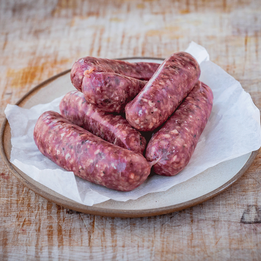 Venison & Red Wine Sausage
