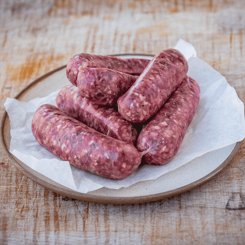 Sausages (Venison & Red Wine) for sale - Parsons Nose