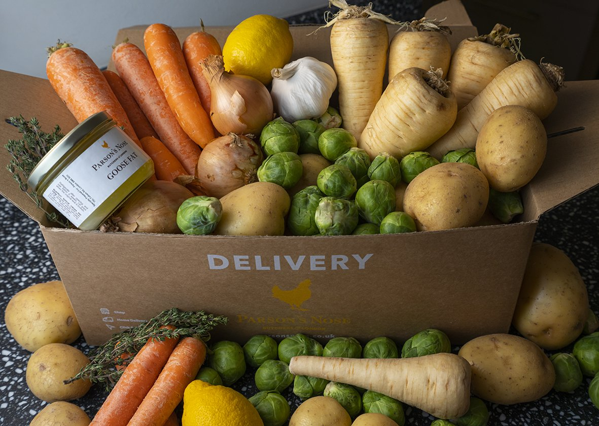 Christmas Vegetable Box for sale - Parson's Nose