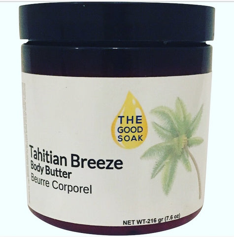 Tahitian breeze body butter - The Good Soak
