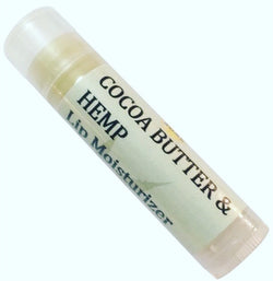 Cocoa butter & Hemp lip moisturizer - The Good Soak