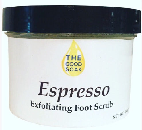 Espresso Foot Scrub - The Good Soak