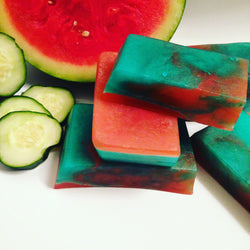 Cucumber watermelon Soap - The Good Soak