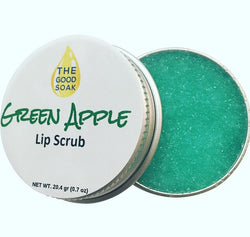 Green Apple Lip Scrub - The Good Soak