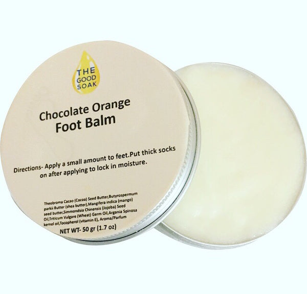 Chocolate Orange Foot Balm - The Good Soak