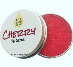 Cherry Lip Scrub - The Good Soak