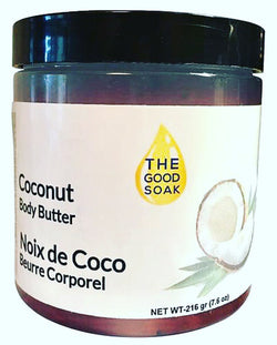 Coconut Body Butter - The Good Soak