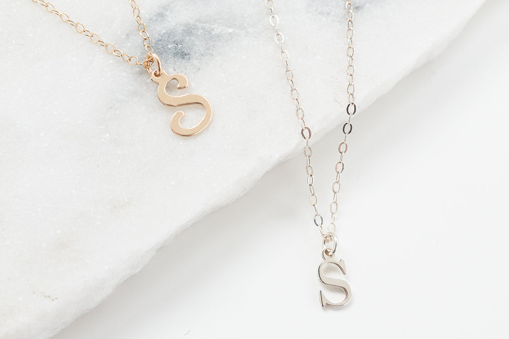 Introducing: The Personalised Letter Necklace