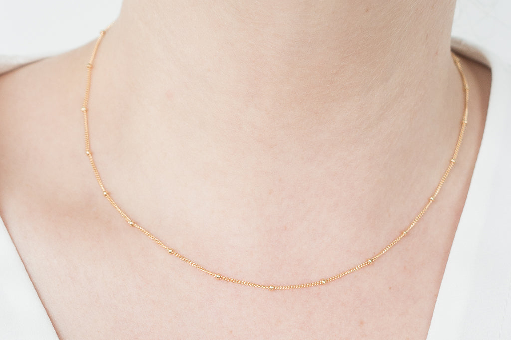 Introducing: The Satellite Chain Necklace