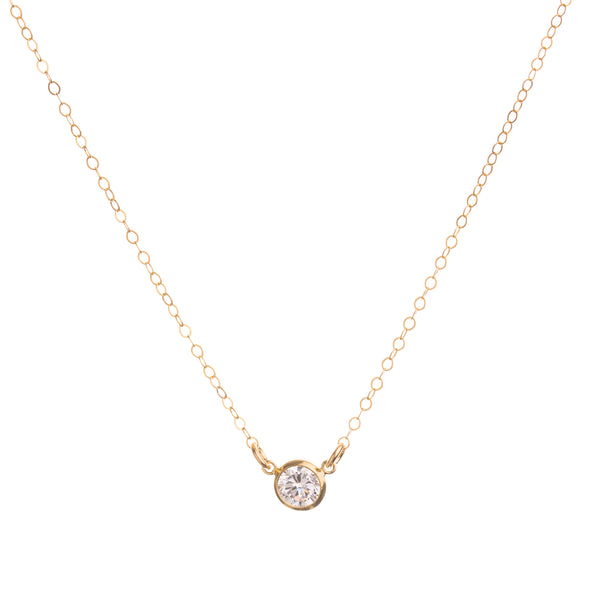 CZ Diamond Necklace