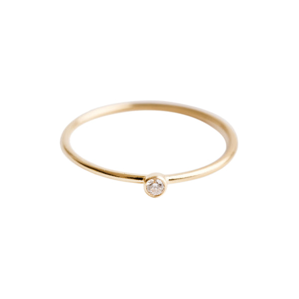 Minimal Diamond Stacking Rings