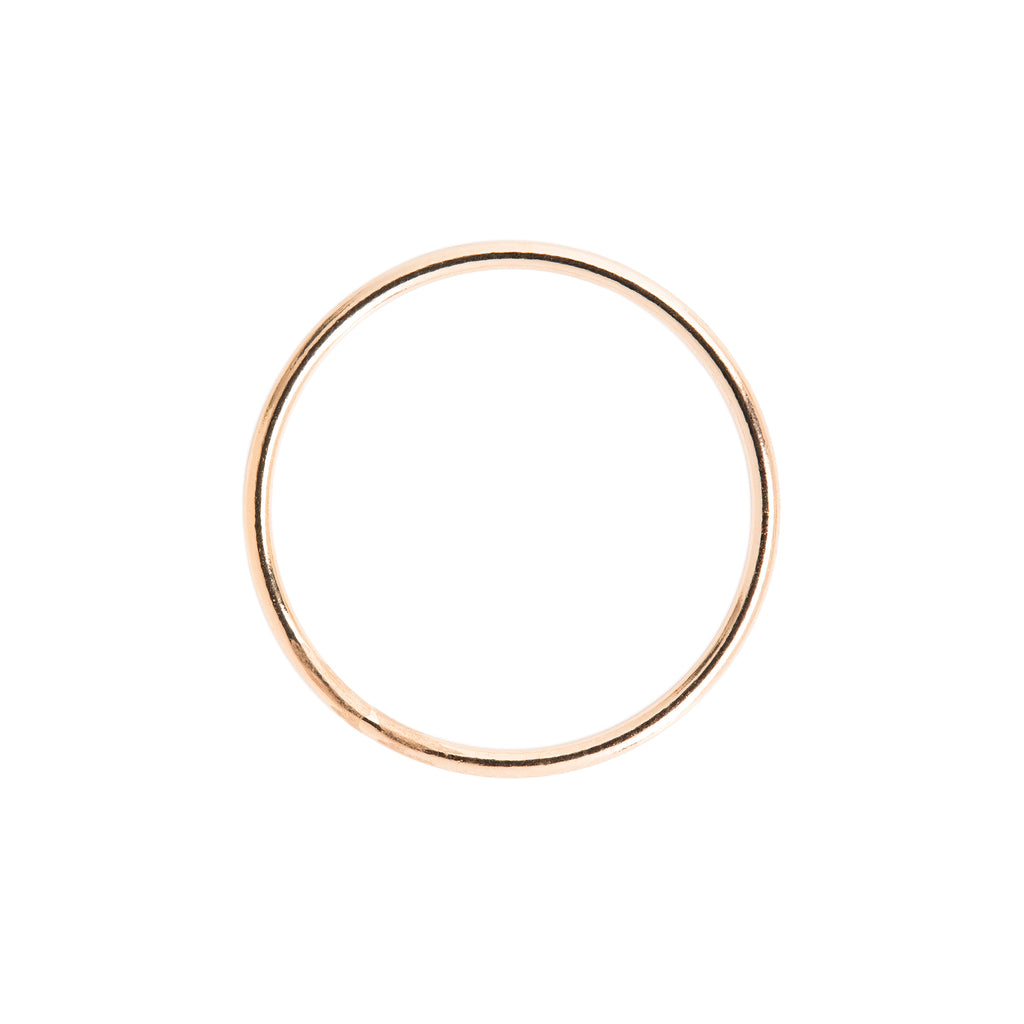 Minimal Gold Stacking Ring