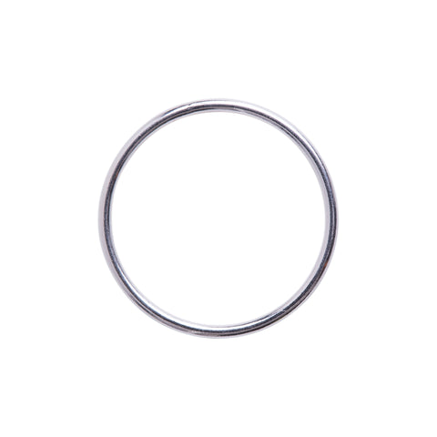 Minimal Stacking Ring Silver
