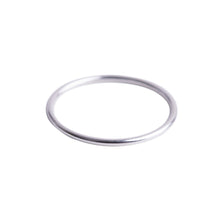 Load image into Gallery viewer, Minimal Silver Stacking Ring